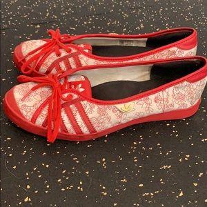 Vintage adidas Adria flats